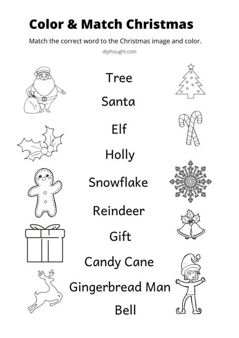 christmas learning printables christmas learning