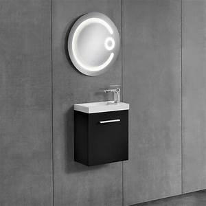 neuhaus armoire de salle bain miroir meuble dessous With porte d entrée alu avec meuble lavabo salle de bain 60 cm