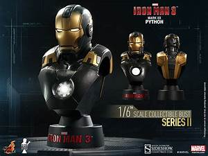 Marvel Iron Man Mark 20 - Python Collectible Bust by Hot ...
