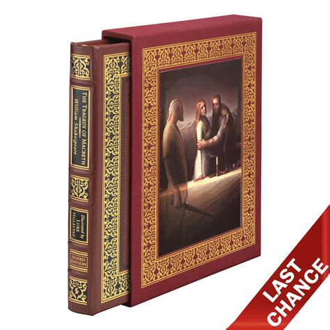 Fill your home with things you love. MACBETH - Deluxe Illustrated Edition