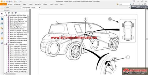 Renault Scenic Electric Window Wiring Diagram by Renault Scenic Ii Repair Manual Grand Scenic Workshop