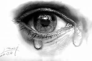 Tears and eye by uuu123447 on deviantART