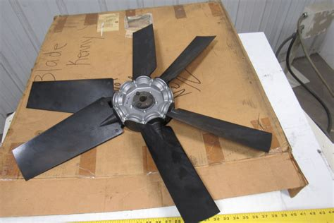 multi wing 32 quot medium volume 6 blade axial fan 40 deg w