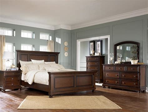 ashley       porter bedroom collection