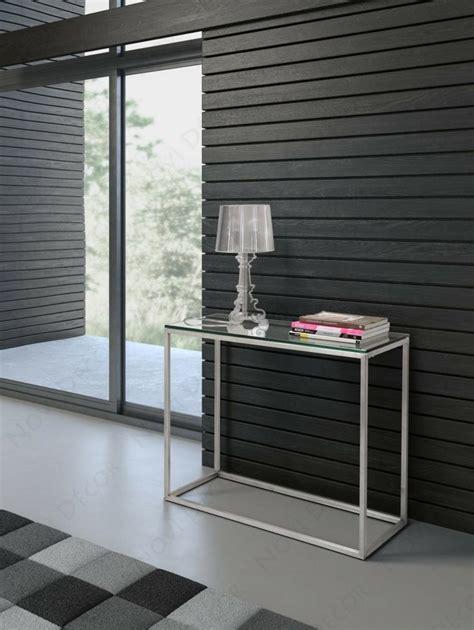 bureau noir verre console moderne une cinquantaine d 39 idées de meubles et