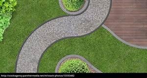 Garten Von Oben : weg durch den garten von oben stock photo 13593482 bildagentur panthermedia ~ Orissabook.com Haus und Dekorationen