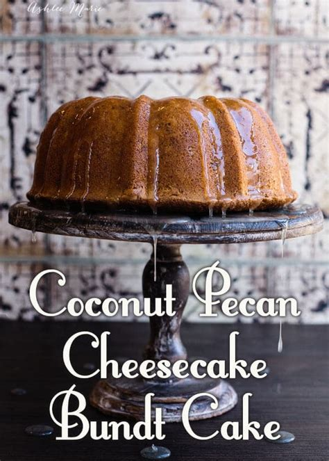 coconut pecan cheesecake bundt cake recipe  tasty