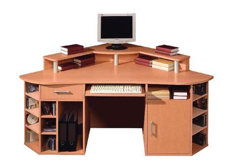 bureau d angle avec surmeuble pin bureau informatique d angle contemporain avec
