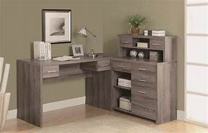 7318, dark, taupe, l, shaped, home, office, desk, from, monarch, , i, 7318
