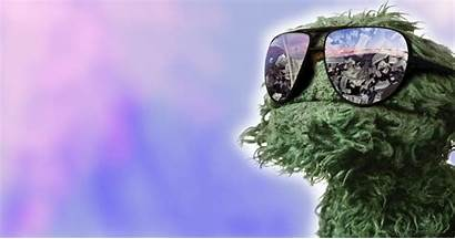 Oscar Grouch Glasses Muppet Motorcycles Wallpapers Wallpapersafari