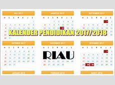 Download Kalender Pendidikan 20182019 Riau Format Excel
