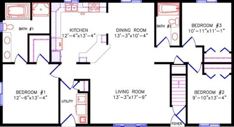simple  story open floor plan rectangular google search house plans pinterest open floor