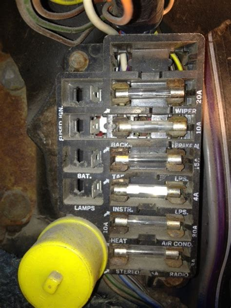 68 Chevelle Fuse Box Location by 1966 Fuse Help Chevrolet Forum Chevy Enthusiasts Forums