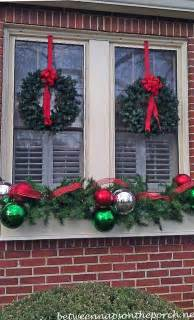 christmas decorating ideas for porches doors and windows