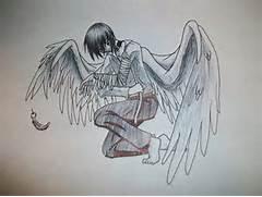 Fallen Angel Broken Wi...