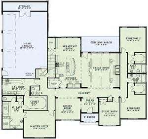 European House Plans One Story Ideas by Coolhouseplans Plan Id 54420 1 800 482 0464