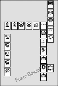 Renault Megane Under Bonnet Fuse Box Diagram