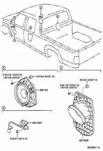 Toyota Tundra Speaker  Front   Electrical