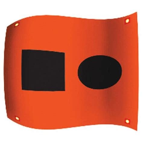 Ultimate Survival SOS Distress Signal Flag with Ties 50 ...
