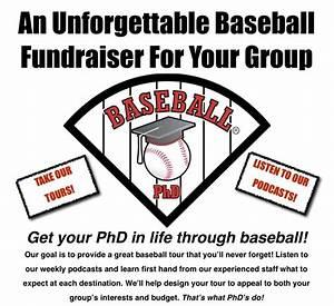 fundraising tours baseball phd With baseball fundraiser flyer template