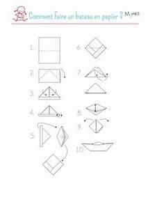 Comment Faire Des Choses En Papier : bateau en papier ~ Zukunftsfamilie.com Idées de Décoration