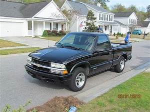Find Used 2003 Chevrolet S10 Ls Black With Single Cab And
