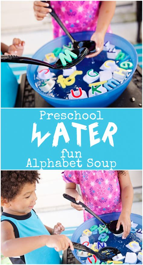 summer memories alphabet soup preschool water 689 | alphabet soup collage 554x1024
