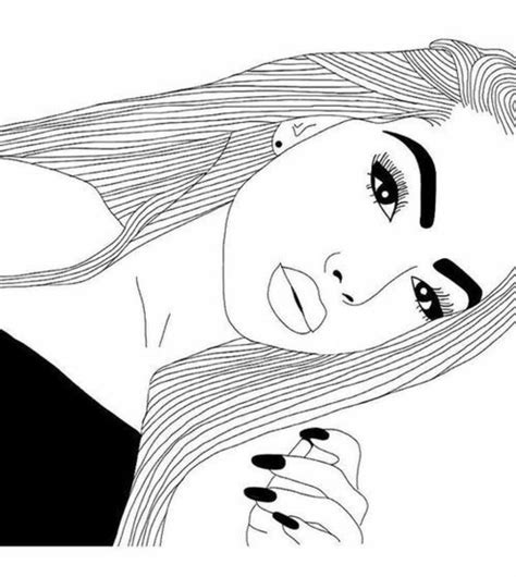 pin  reesha micaela  tumblr girls blackwhite