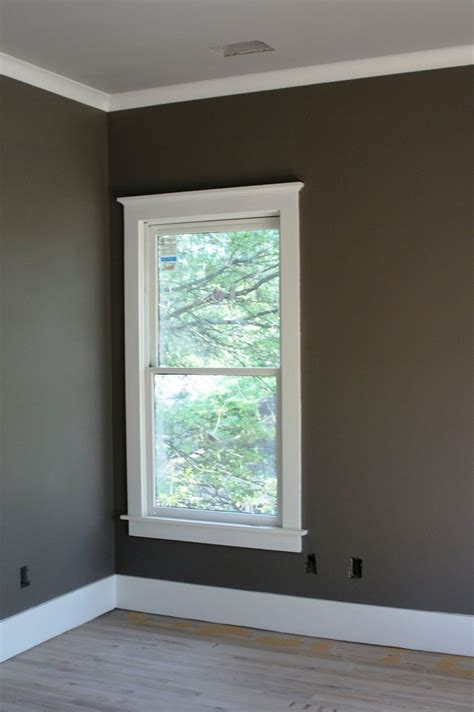 Window Crown Molding by See Don T Be Scared Of Paint Colors Home