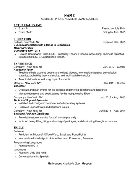 resume tips gpa worksheet printables site