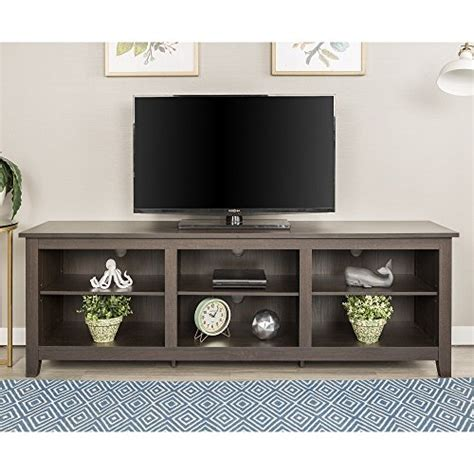 New 70 Inch Wide Espresso Brown Television Stand Best