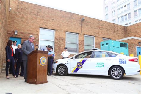 philadelphia police  receive plug  hybrid vehicles