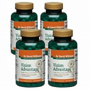 Dr  David Williams U0026 39  Vision Advantage Supplement  360 Capsules  120-day Supply