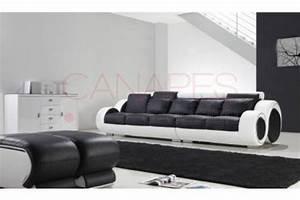 Canapé 8 Places : photos canap 5 places droit ~ Teatrodelosmanantiales.com Idées de Décoration