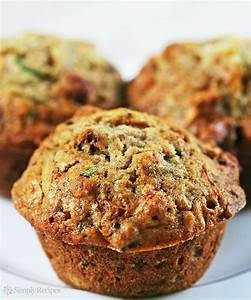 Zucchini Muffins Recipe SimplyRecipes com