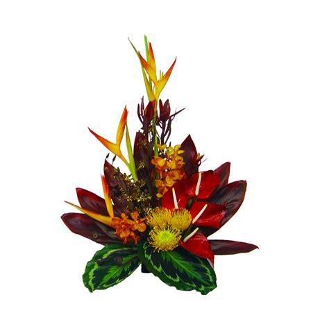 orchid arrangements tropical sunset hawaiian flower bouquet hawaiian flowers