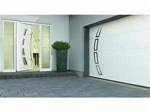 les portes de garage et portes dentree assorties With porte de garage et porte d entrée