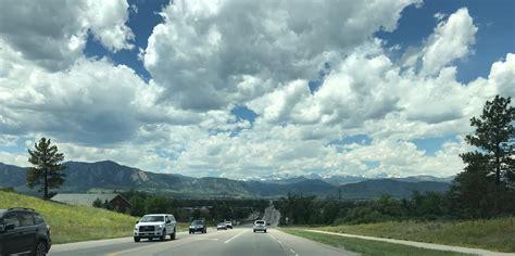 The view driving into Boulder, Colorado   alvinalexander.com