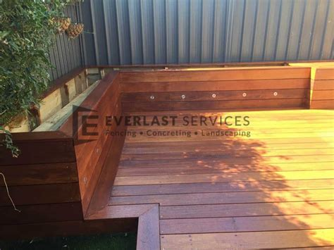 timber decking melbourne merbau composite outdoor deck