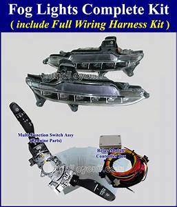 2015  Hyundai Genesis Sedan Fog Light Lamp Complete Kit