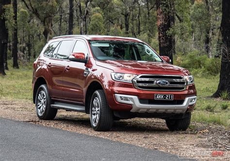 Ford Everest 2017 ford everest trend review performancedrive