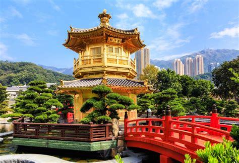 Nan Lian Garden, Hong Kong, China Jigsaw Puzzle In Bridges