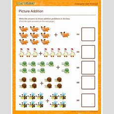 Worksheet Of The Week Picture Addition  The Math Blaster Blog