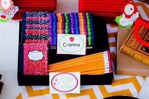 Back To School Party {FREE Printable Package} - Lillian ...