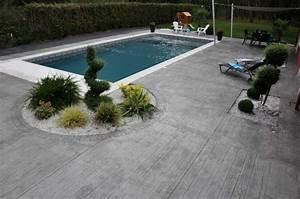 Tour De Piscine Bois : b ton imprim fa on bois pour tour de piscine dans le var ~ Premium-room.com Idées de Décoration