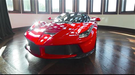 See more ideas about ferrari, cars, super cars. Watch These Guys Detail A LaFerrari In The Coolest Garage Ever