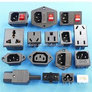 Male To Male Electrical Plug Adapter Power Cord Connector ...
