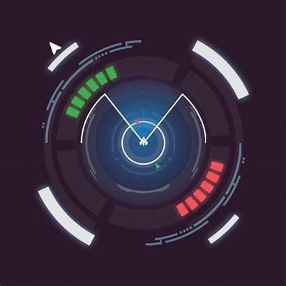 Sci Futuristic Fi Radar Gifs Screen Loading