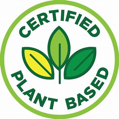 Plant Based Certified Certification Foods Seal Vegan