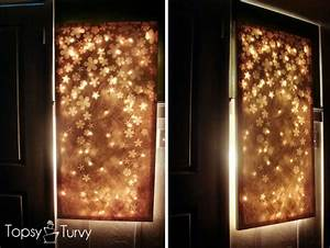 Wall decor that lights up simple home decoration